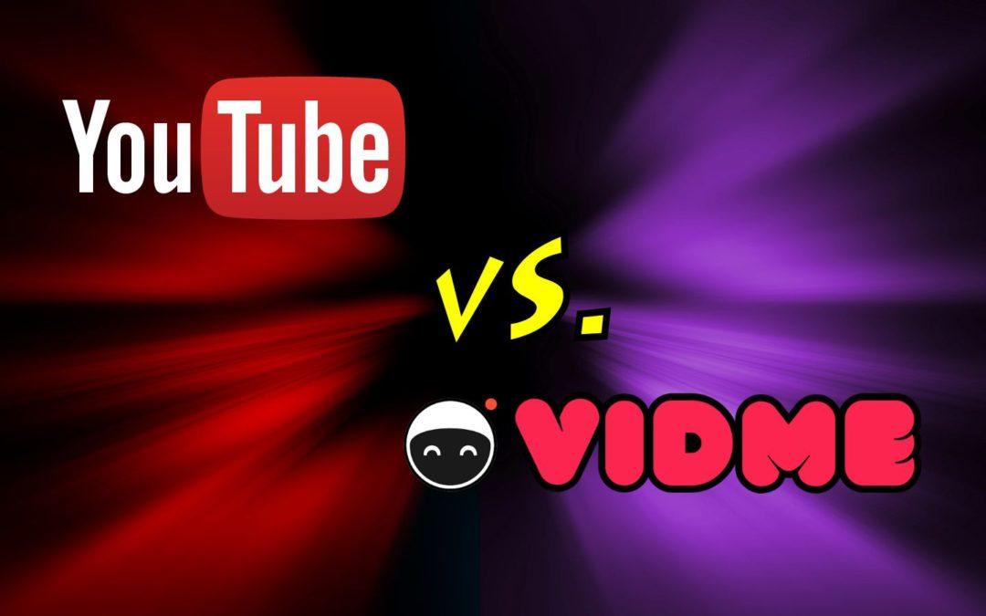 Vid.me Vs. YouTube